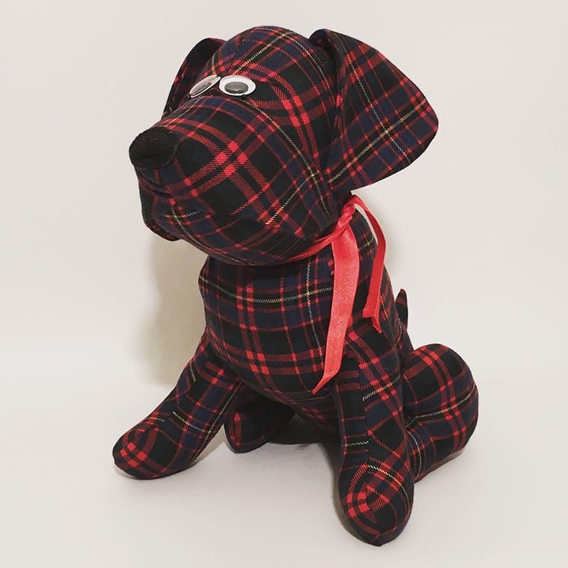 Интерьерная игрушка ручной работы Собака Голди