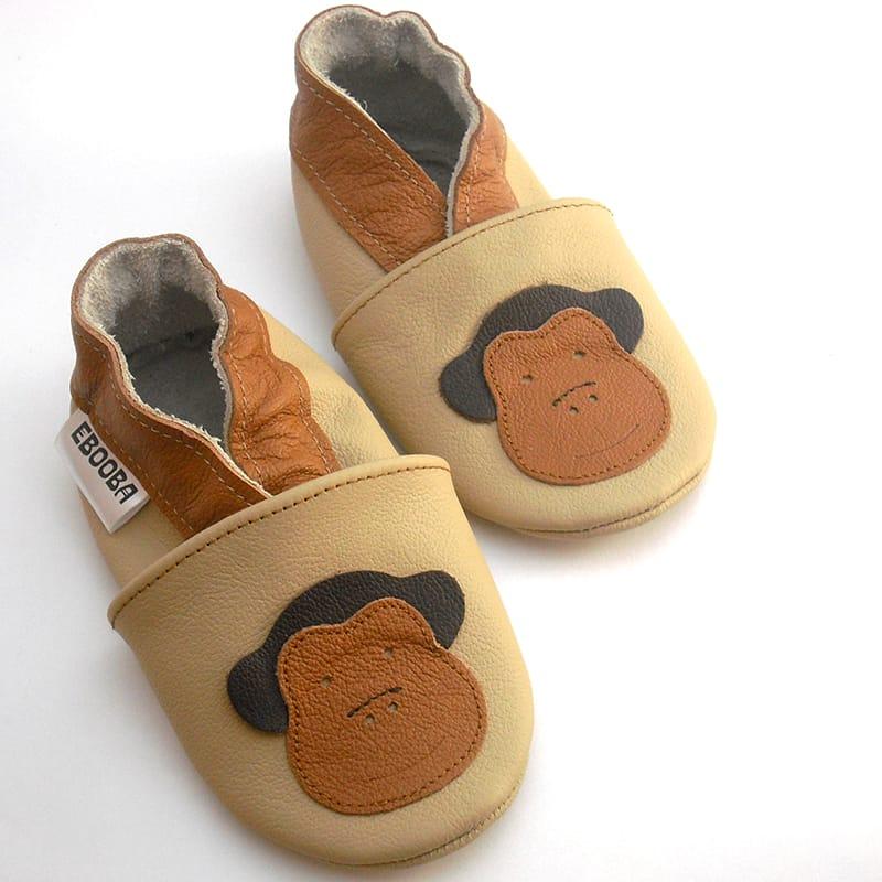 Дизайнерская кожаная пара обуви унисекс Еbooba Обезьянка