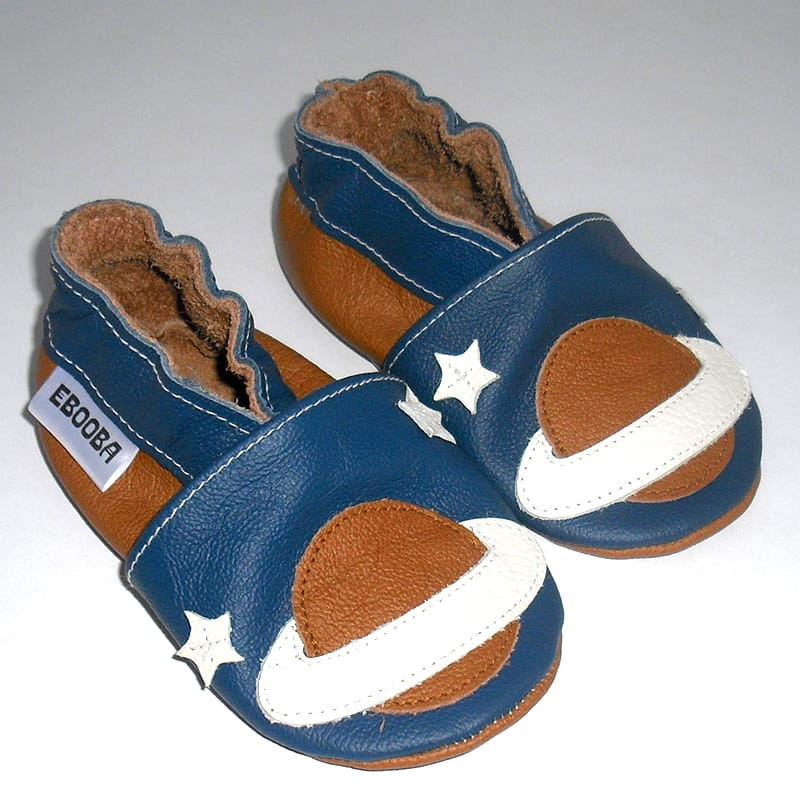 Handmade взуття для хлопчиків Еbooba Сатурн (blue leather)