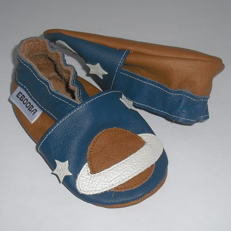 Handmade обувь для мальчиков Еbooba Сатурн (blue leather)