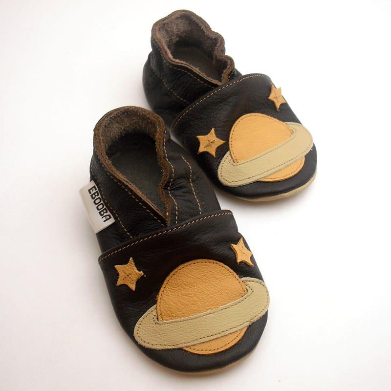 Кожаная обувь для мальчиков Еbooba Бежевый Сатурн (brown leather)