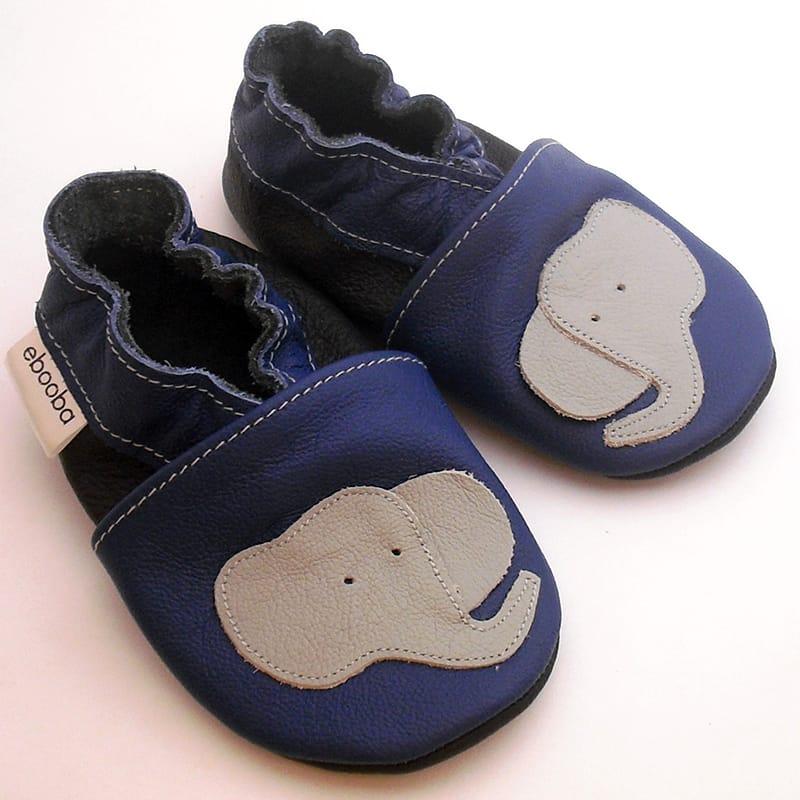 Брендовая обувь для мальчика Еbooba Слоненок (blue leather)