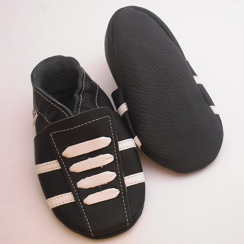 Брендовые кроссовки для мальчика Еbooba (black leather)
