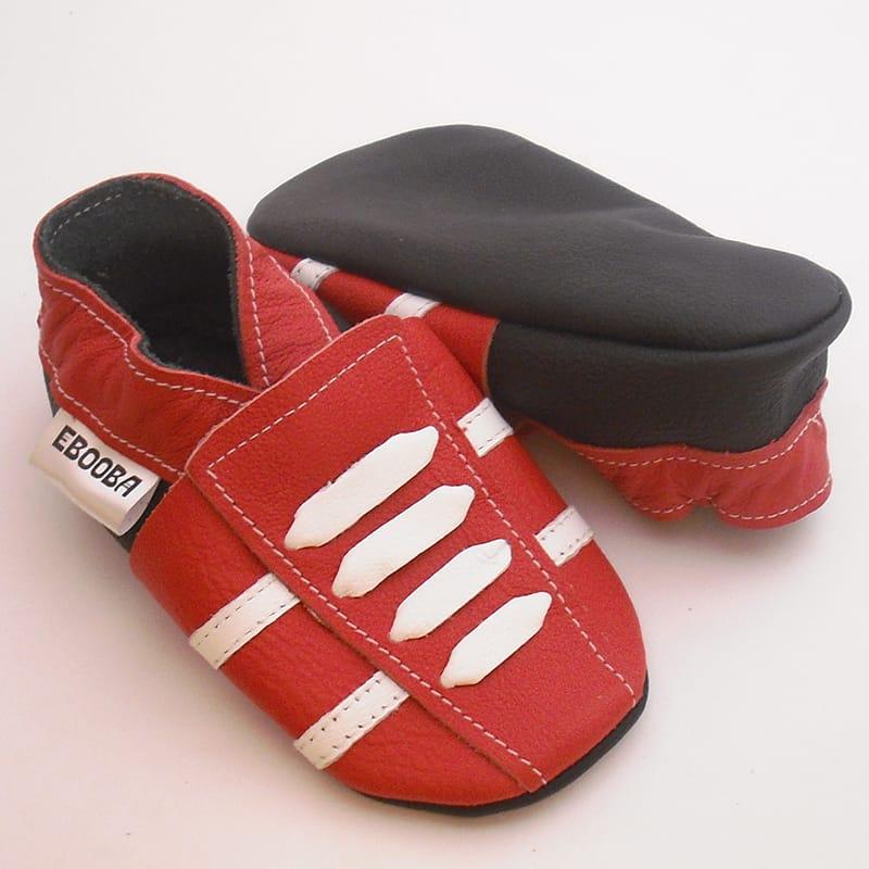 Брендовые унисекс кроссовки  Еbooba (red leather)