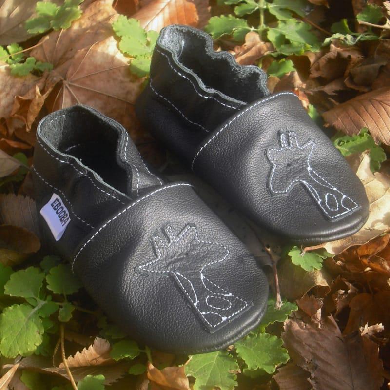 Модная кожаная обувь для мальчиков Еbooba Черный Жираф