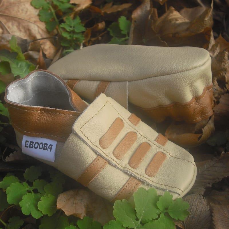 Трендовая пара обуви для мальчика Еbooba Бежевые Кроссовки