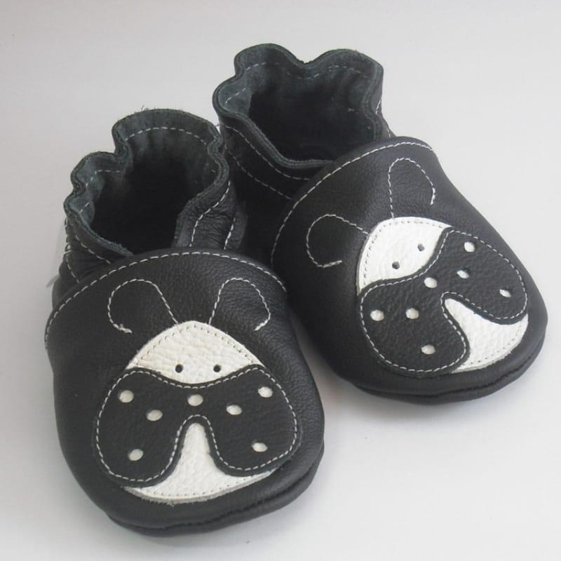 Кожаная пара унисекс обуви для детей Еbooba Божья Коровка