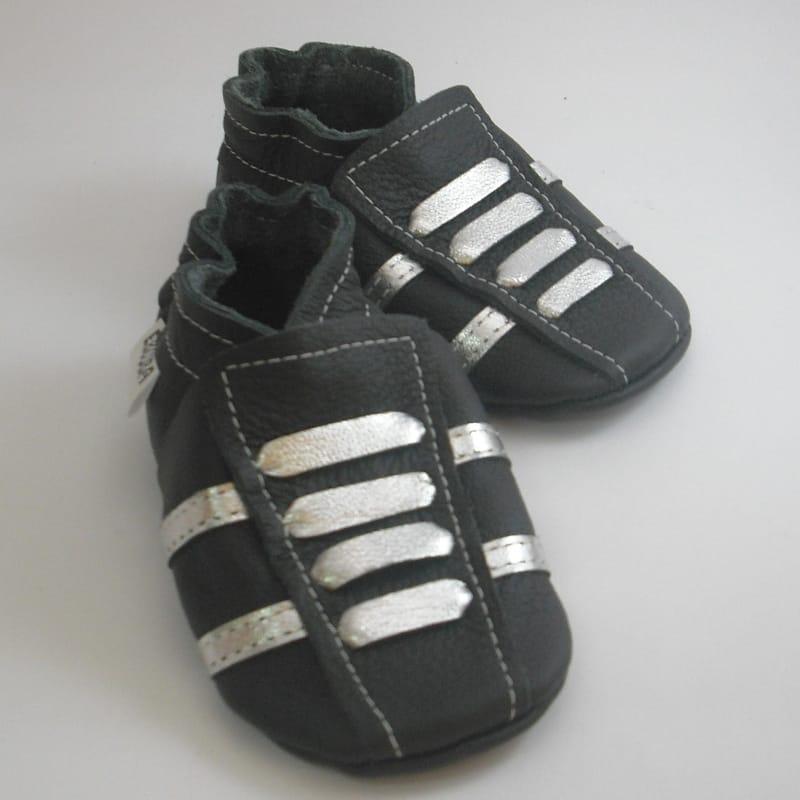 Дизайнерська взуття для хлопчика Еbooba Сріблясті Кросівки