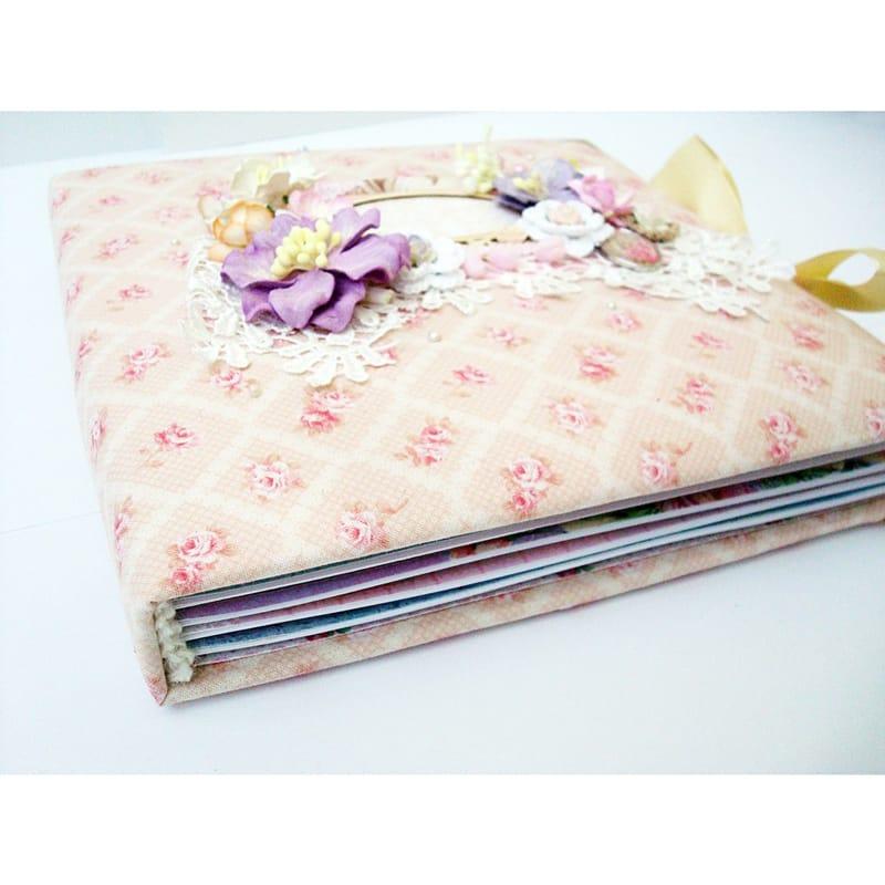 Уникальный фотоальбом ручной работы для девочки Princess Pearl