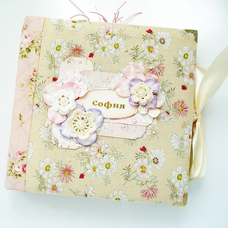 Модний фотоальбом для новонародженої принцеси Swan Princess