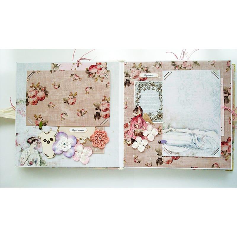 Модный фотоальбом для новорожденной принцессы Swan Princess