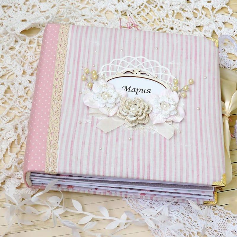 Ніжний красивий Hand made фотоальбом для дівчинки Princess Belle