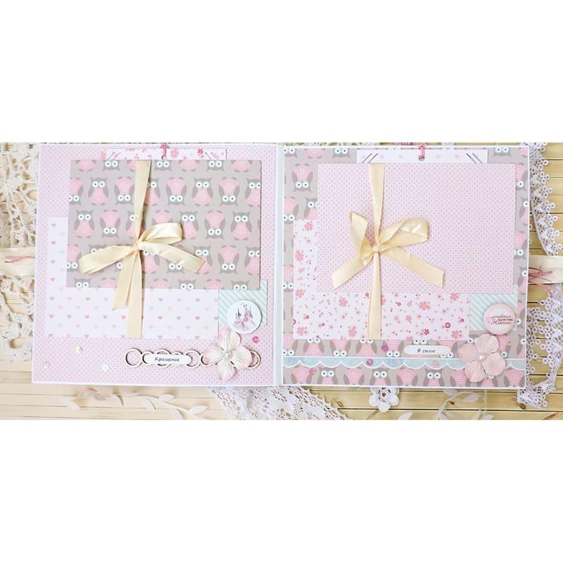 Нежный красивый Hand made фотоальбом для девочки Princess Belle