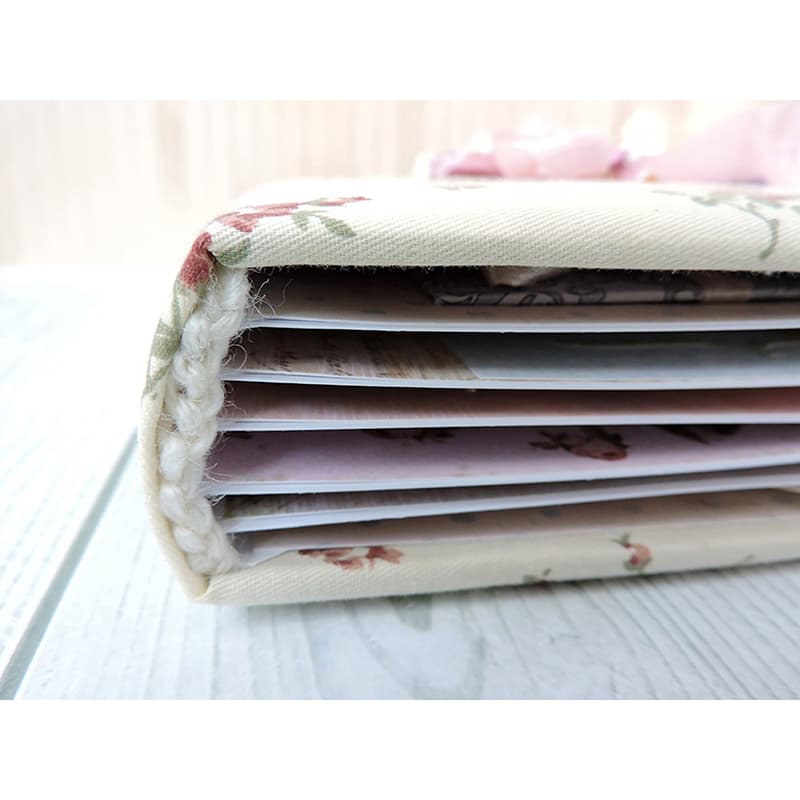 Фотоальбом в подарунок дівчинці Шебі-шик