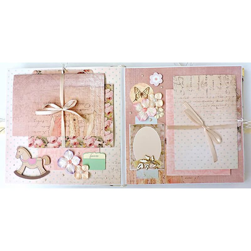 Дизайнерский фотоальбом в подарок для девочки Элегия