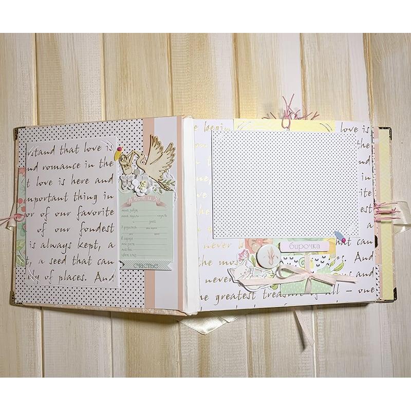 Большой дизайнерский фотоальбом для девочек Princess Cinderella