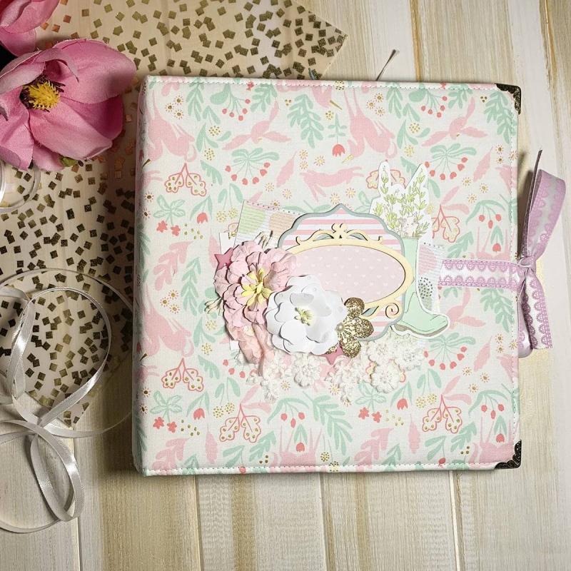 Оригинальный дизайнерский фотоальбом для девочек Princess Jasmine