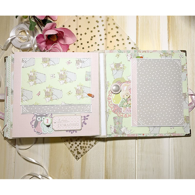 Оригінальний дизайнерський фотоальбом для дівчаток Princess Jasmine