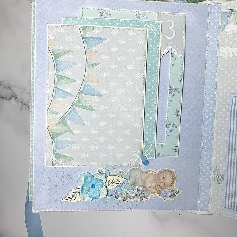Скрапбукінг альбом для хлопчика Little Prince