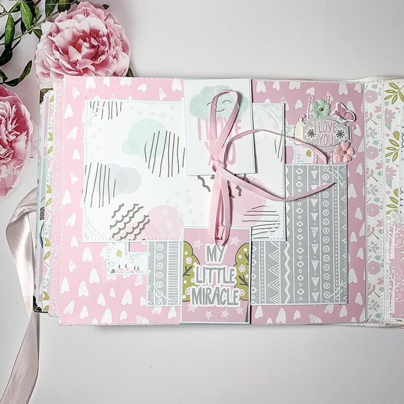 Скрапбукинг альбом для новорожденных Little Princess