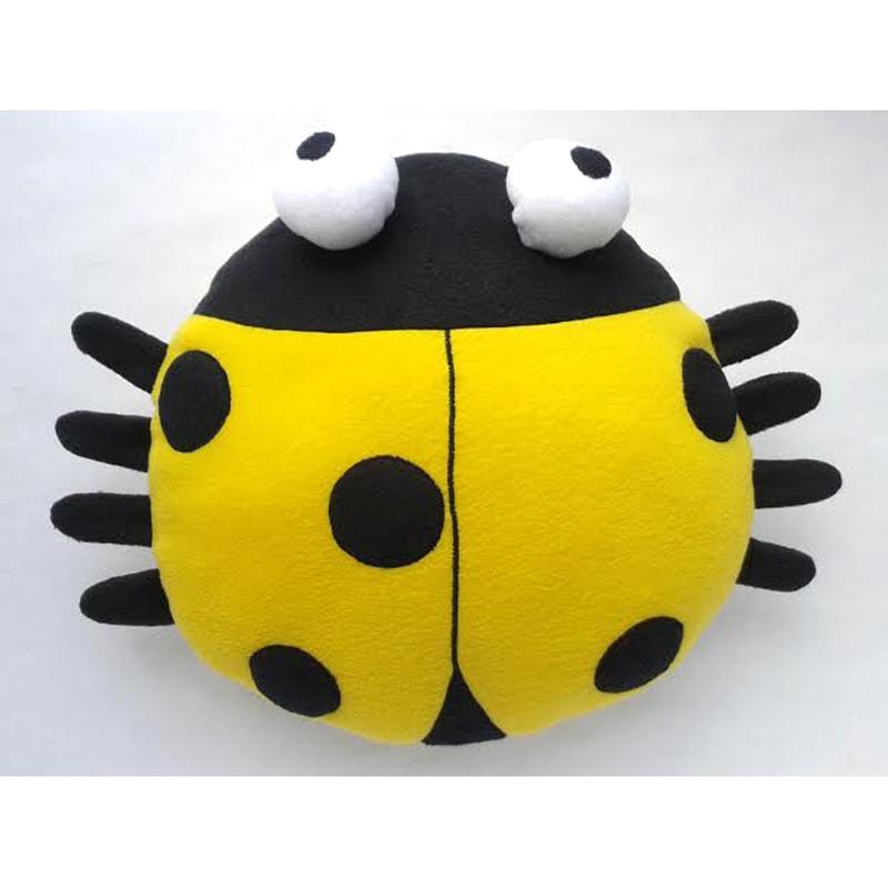 Эксклюзивная подушка-подголовник Handmade Божья Коровка Памела