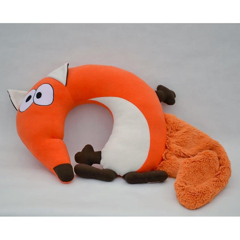 Детская подушка подголовник Smart Fox