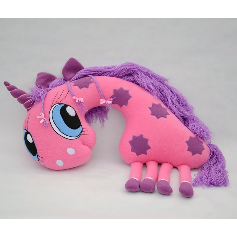 Подушка подголовник для девочки Pink Unicorn