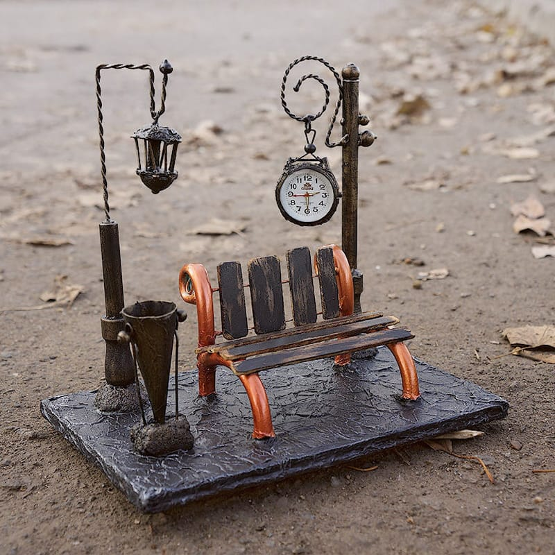 Винтажные интерьерные часы в подарок English Square