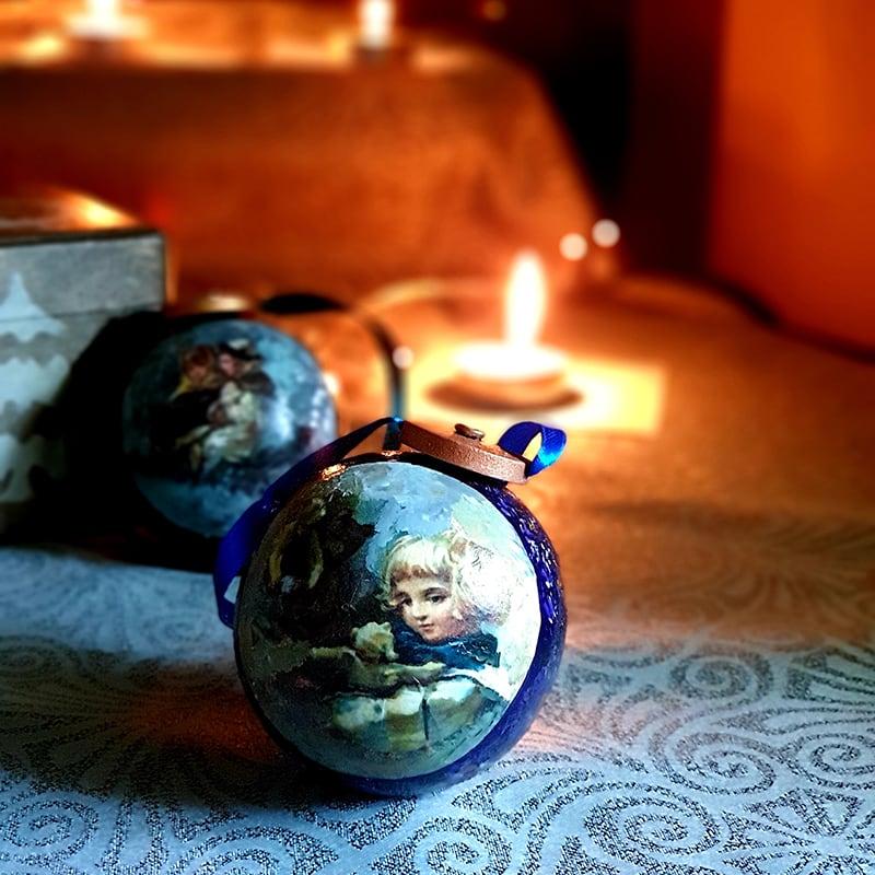 Нand made набор елочных украшений Elizabeth Boehm