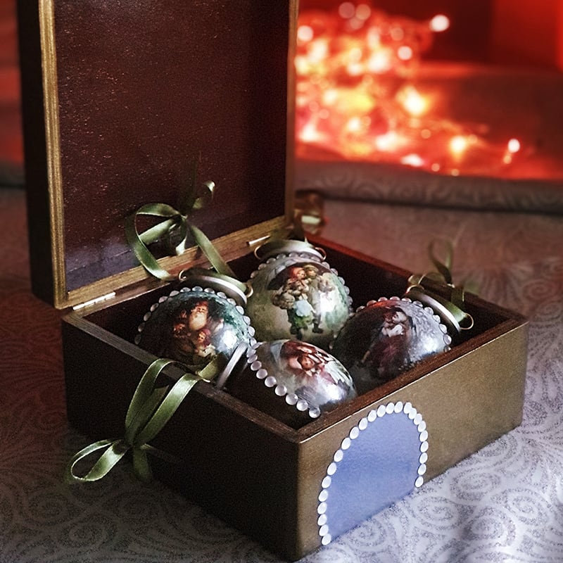 Набор елочных игрушек Забытое Рождество