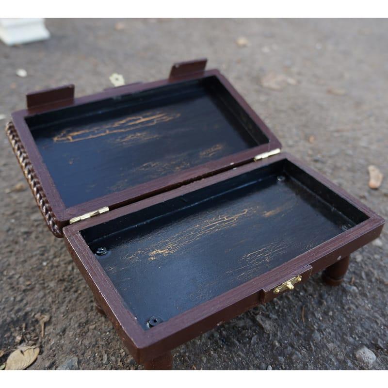 Оригинальная дизайнерская деревянная купюрница hand made Syndicate