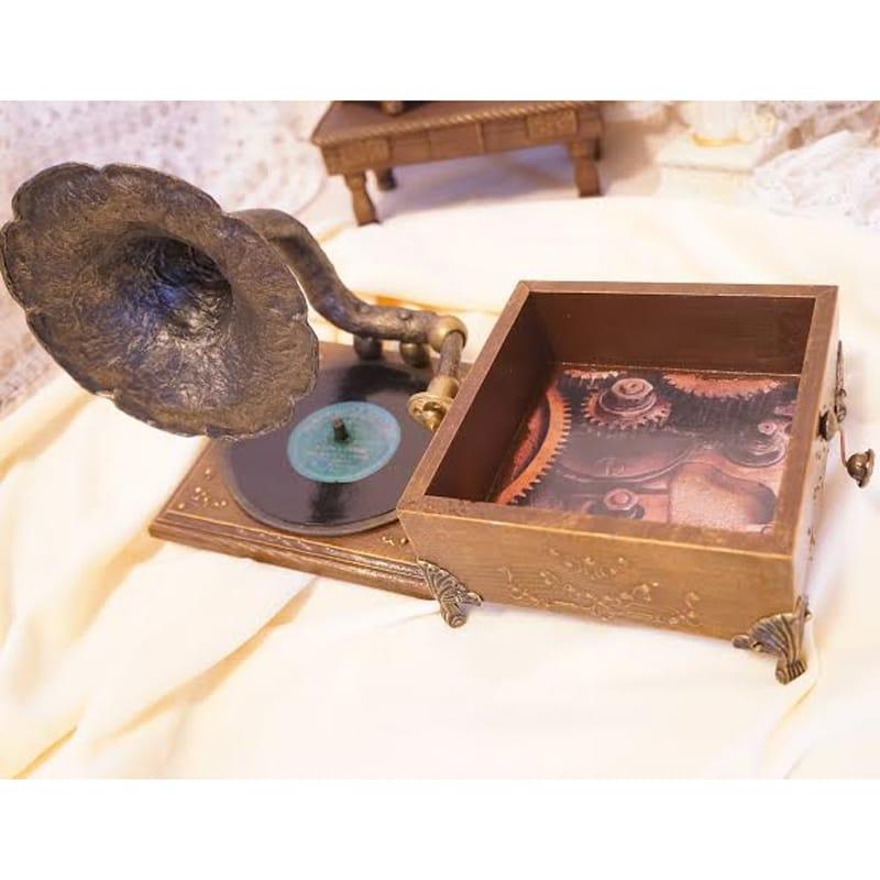 Дизайнерская винтажная шкатулка в подарок Gramophone