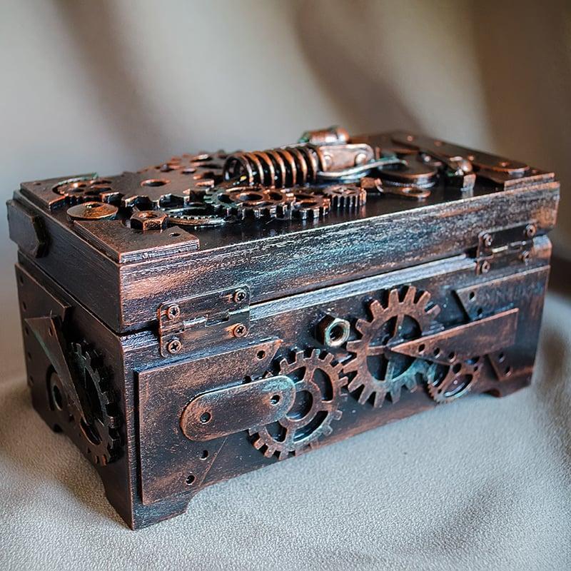 Скринька-купюрница в подарунок Стімпанк Ambassador Horace Bramble