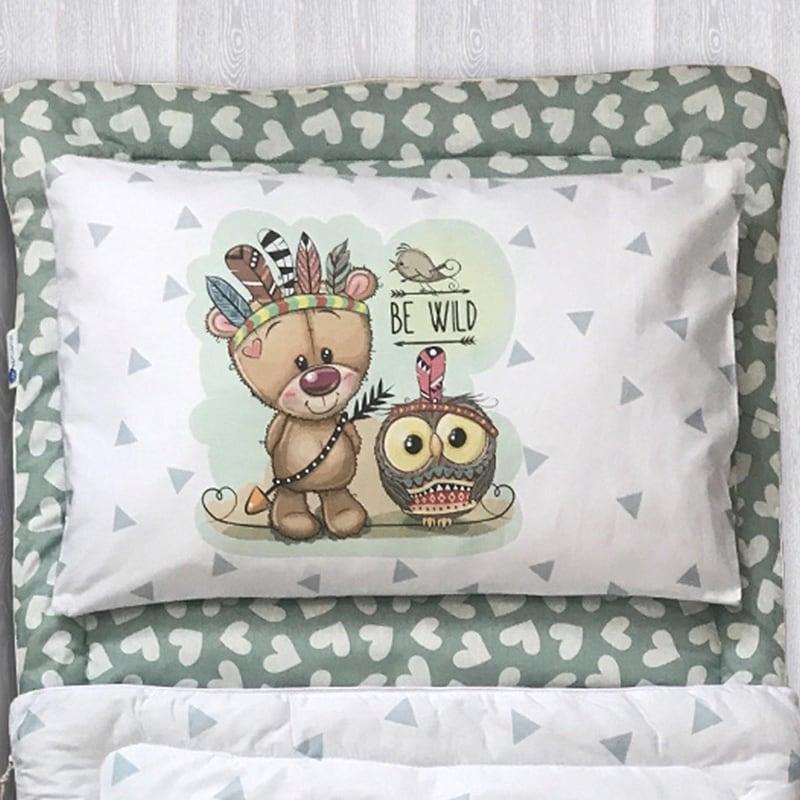 Дитячий спальний мішок Грозний Мишко