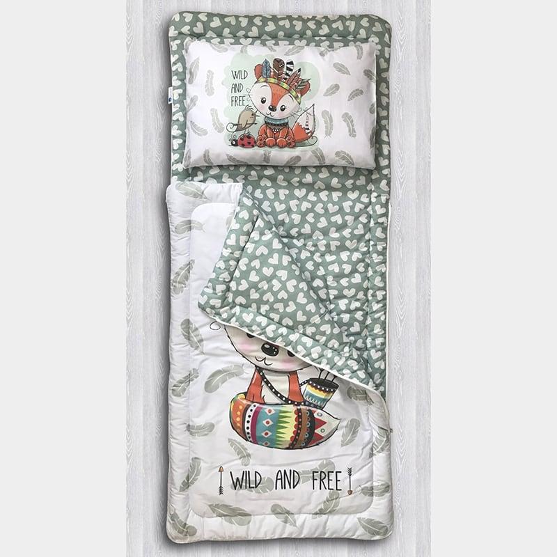 Детский спальный мешок Хитрый Рыжий Лис