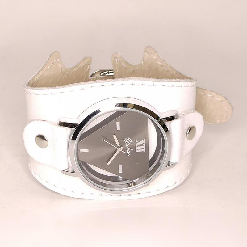 Авторські жіночі годинники White Queen leather