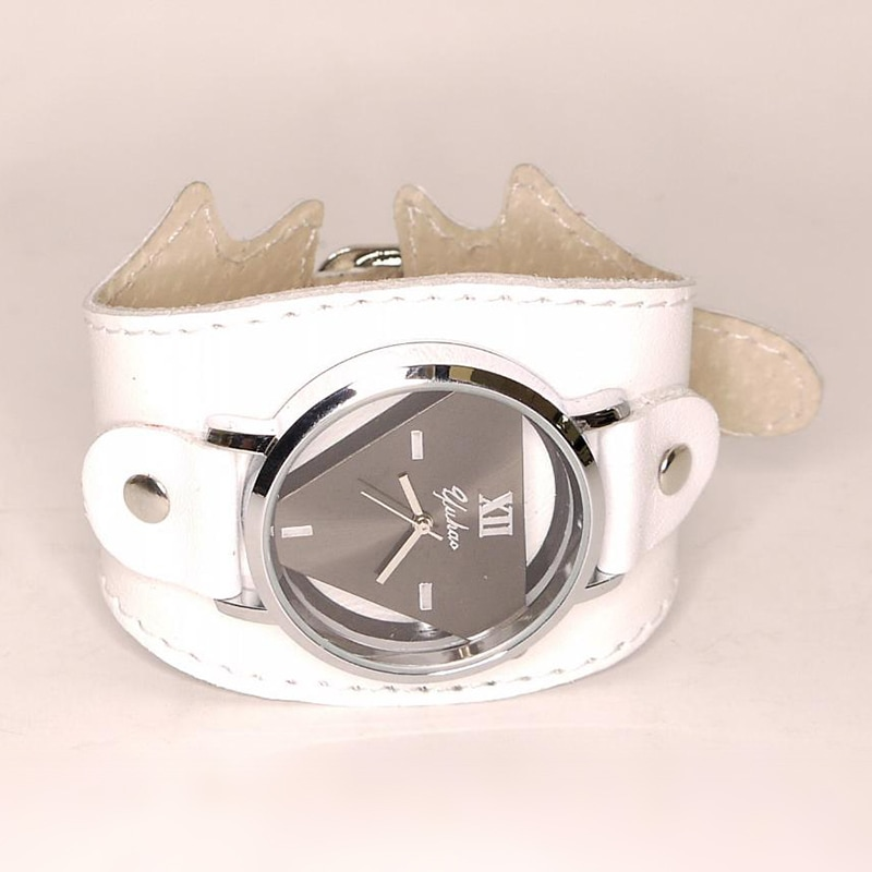 Авторские женские часы White Queen leather
