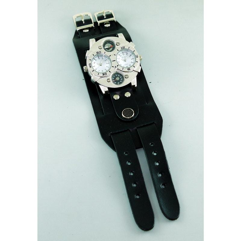 Мужские часы в подарок Double Aviator Circle