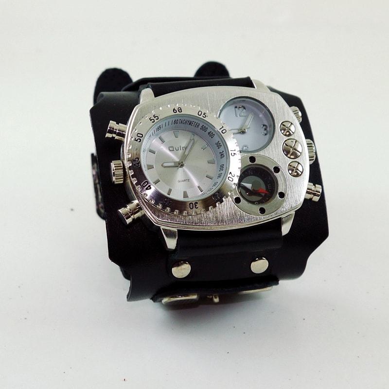Мужские часы в подарок Double Aviator Ellipse