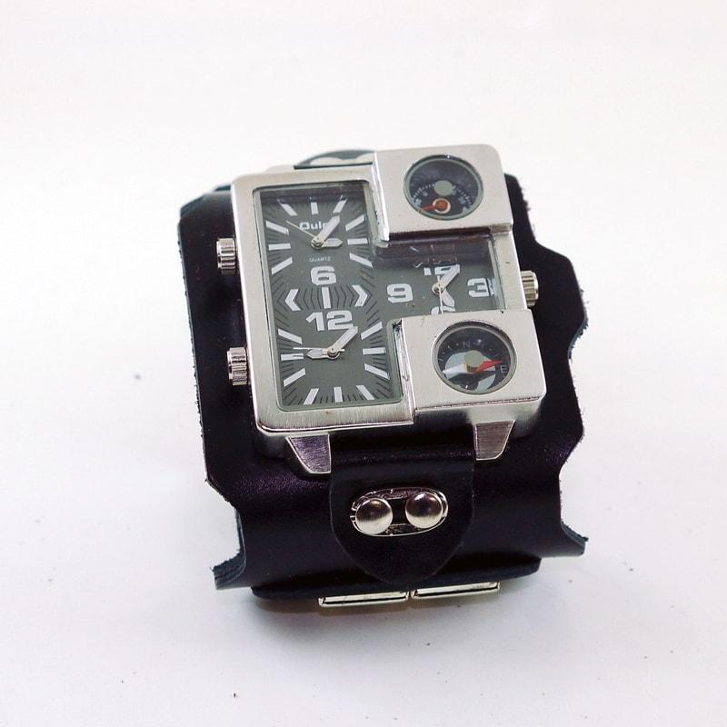 Чоловічий годинник у подарунок Triple Aviator Square