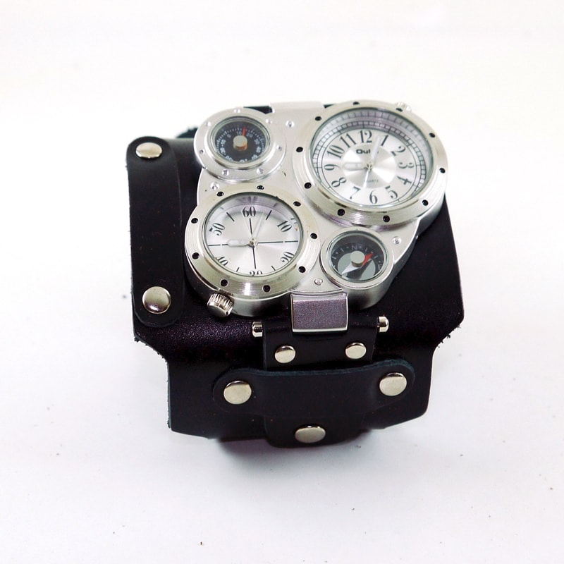 Чоловічий годинник у подарунок Double Aviator Diagonal