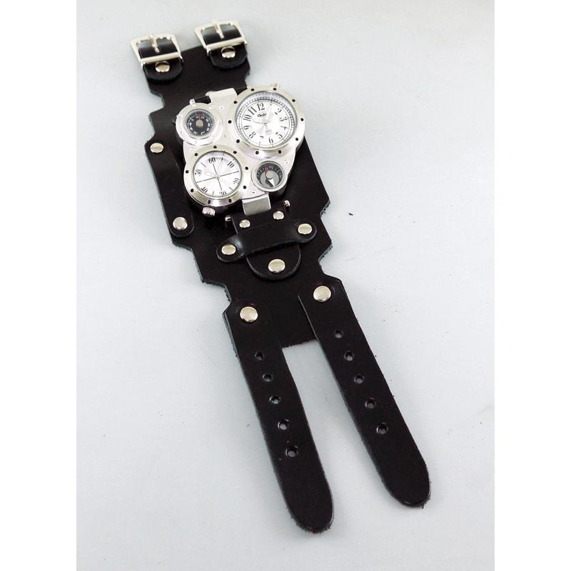 Мужские часы в подарок Double Aviator Diagonal