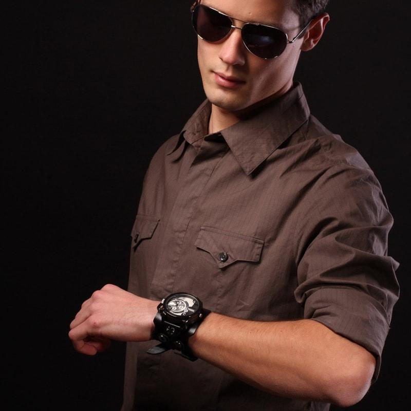 Чоловічий годинник у подарунок Aviator Rate