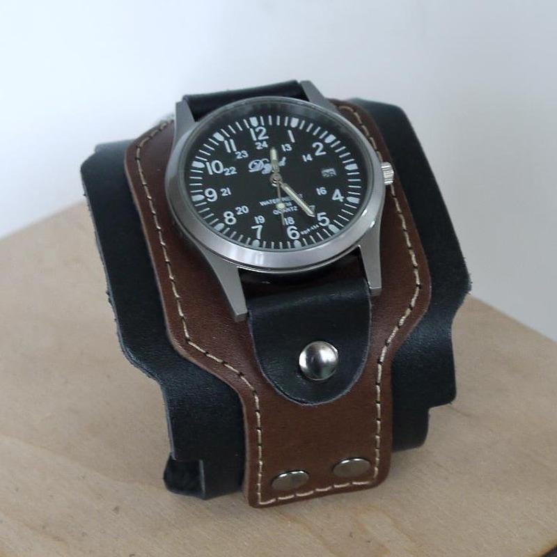 Мужские часы в подарок Modern Brown Leather