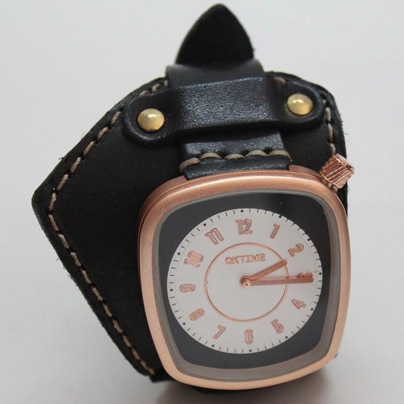 Жіночий годинник з шкіряним ремінцем glory