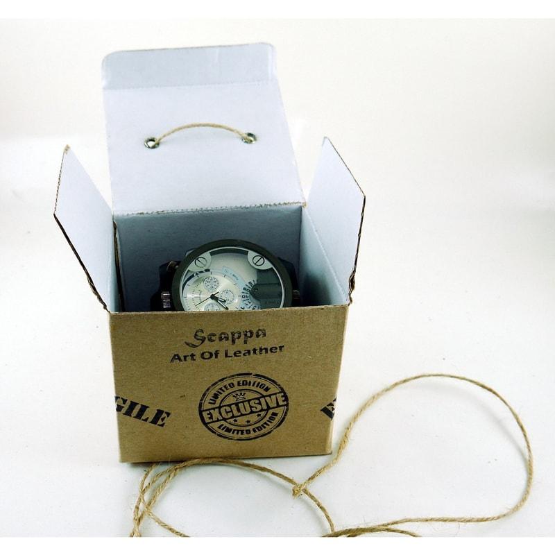 Чоловічий годинник у подарунок Double Aviator Ellipse