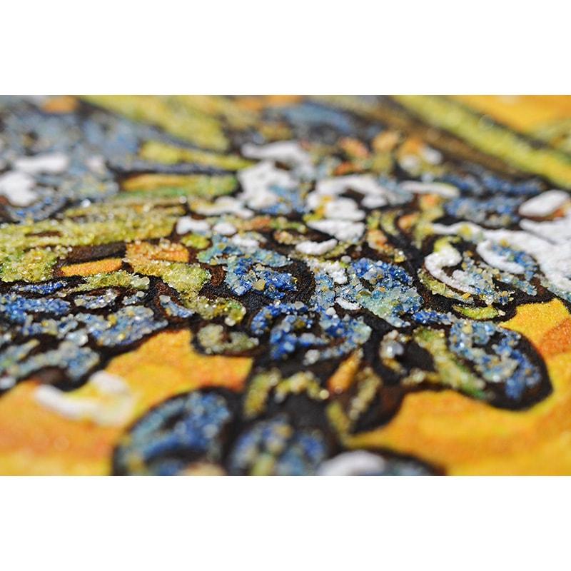 Картина из янтаря Ван Гог Ирисы