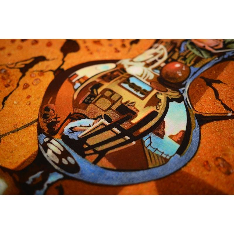 Картина из янтаря Стенли Брайс Зеркальное Отражение