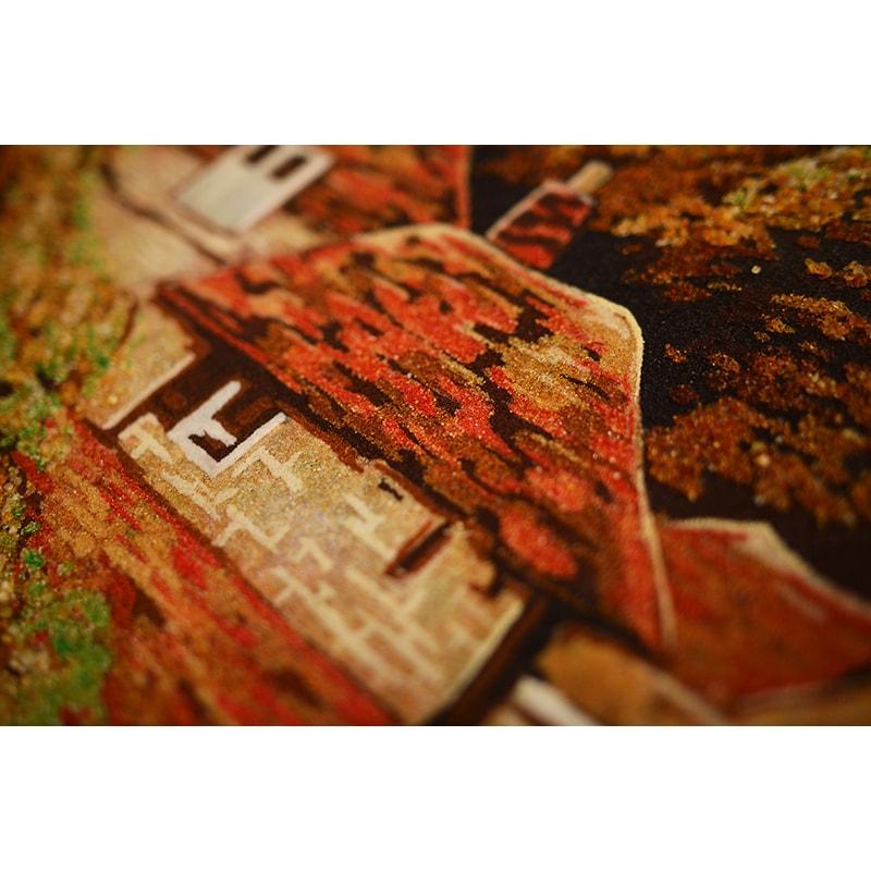Картина в подарунок з бурштину Альфред Брински Англійський пейзаж
