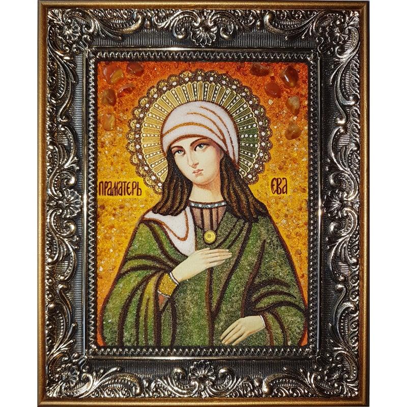 Икона из янтаря в подарок Праматерь Ева